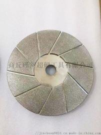 单面镀金刚石磨盘 配套机器金刚石磨盘