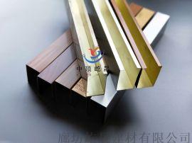 U型木纹铝方通 室内铝方通吊顶