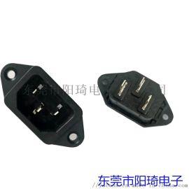 ST-A01-002L品字型电源插座