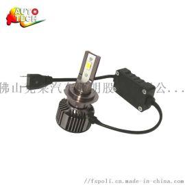 LED前大灯 三色变光 H1H3H4H7 12-24V汽车灯泡