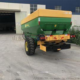 牵引式撒肥车 新款施肥机械