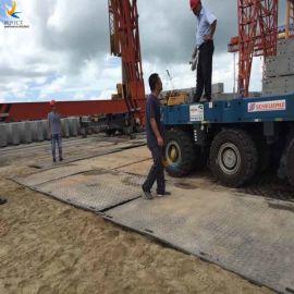 泥泞道路垫板 临时路面铺路垫板生产厂家