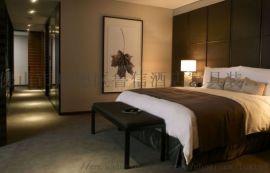 宾馆床酒店家具,商务宾馆标间