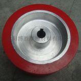 机械配件滑轮包胶 各种滚轮聚氨酯包胶