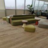 室内PVC木塑地板报价防水免龙骨的地板