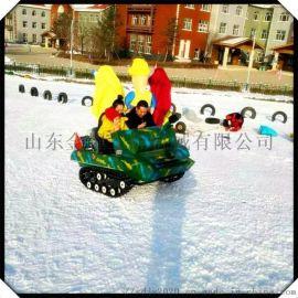 孩子爱不释手的坦克车 雪地坦克 游乐坦克车