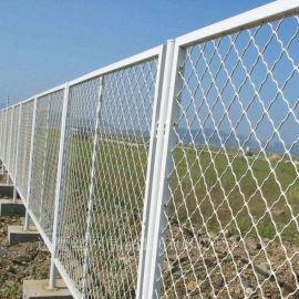 菱形钢丝网,美观格格网,菱形铁网厂家定做