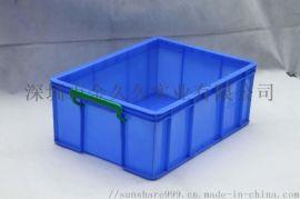 供应食品塑料周转箱标准规格尺寸直销塑胶箱子