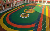 深圳EPDM塑胶地面,幼儿园塑胶跑道厂家