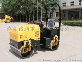2吨路通双钢轮压路机高配车型强劲动力高压实度
