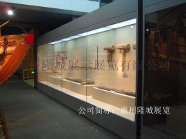 惠州隆城展柜设计沿墙柜