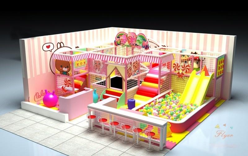 小型定制儿童配套游乐空间广州飞翔家直销