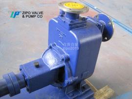 自贡自泵水泵厂无堵塞卧式自吸泵铸铁电动排污泵
