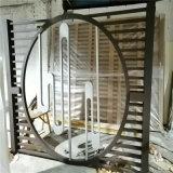 格柵透光鋁屏風 型材透光鋁屏風 摺疊透光鋁屏風