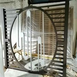 格栅透光铝屏风 型材透光铝屏风 折叠透光铝屏风