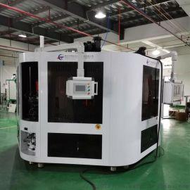 汕头化妆品包材全自动丝印机 UV固化转盘四色印刷机