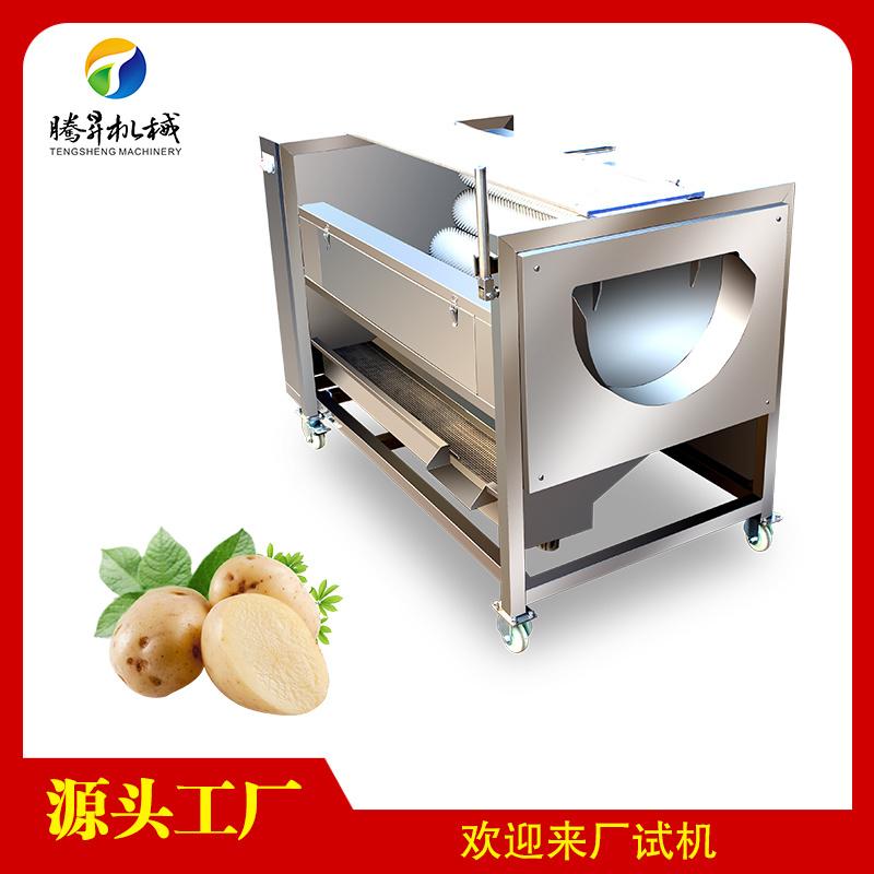 木薯加工前处理设备 木薯清洗去皮机