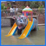 水上乐园设备大象双滑梯供应厂家广州浪腾水上乐园