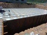抗浮BDF地埋式箱泵一体化消防水箱泵房布置