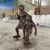 裏水玻璃鋼校園人物雕塑 學校名人雕像