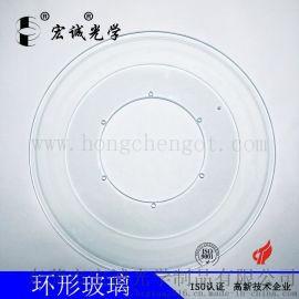 500MM筛选机环形玻璃盘   筛选机载物台玻璃