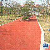 红色透水混凝土 材料销售 工程施工