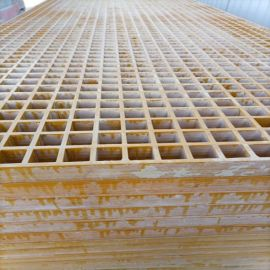 玻璃钢排水沟洗车房格栅可拼接格栅盖板