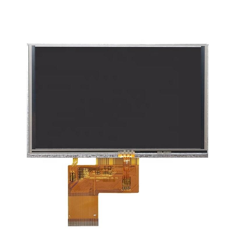 全視角5.0寸800*480 TFT 電阻觸摸屏