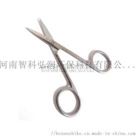 小鼠手术剪刀/不锈钢动物手术剪刀