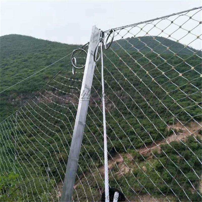 菱形被动边坡防护网A衡阳菱形被动边坡防护网厂家型号