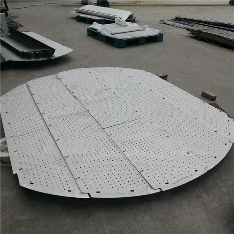 焦化再生塔金屬304篩板塔盤316L篩孔塔盤的應用
