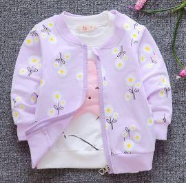 春秋季外套1-2歲兒童新款童裝3  洋氣薄款開衫  春裝上衣