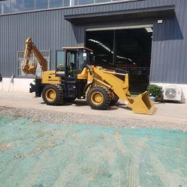 多用挖掘装载一体机 多功能挖掘两头忙 装载挖掘机