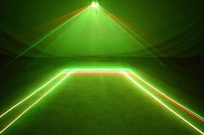 舞台灯光广州鑫橙小双头红绿激光灯