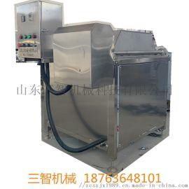 三智电加热油水分离油炸机多少钱