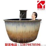 景德鎮橢圓形超大1.7米泡澡缸廠家