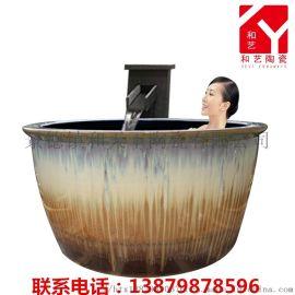 景德镇椭圆形超大1.7米泡澡缸厂家