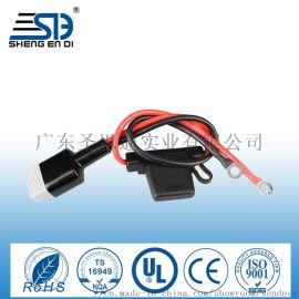 SG50a安德森插头带线汽车保险丝座大号防水座