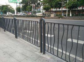 广东江门人行道隔离栏道路铁质栏杆厂家防撞公路护栏