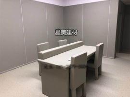 重庆审讯室墙面软包 谈话室防撞软包 留置室防撞墙