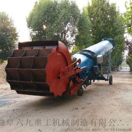 料堆取料装车机 砂石取料机LJ1斗轮取料机
