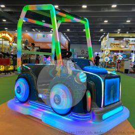 儿童发光碰碰车广场双人游览电动车款式多