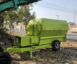 养殖设备卧式双轴拌草机  TMR饲料搅拌机
