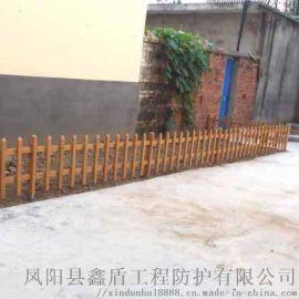 安徽池州绿化防护栅栏 锌钢草坪护栏生产厂家