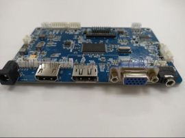 DP与HDMI转EDP工业级宽温液晶驱动板