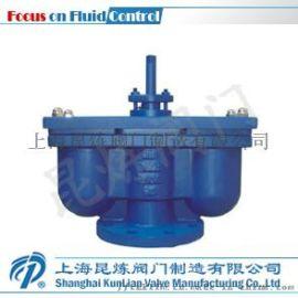 QB2双口排气阀 排气阀厂家 上海昆炼