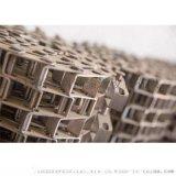 食品專用不鏽鋼長城網帶 順發 廠家定製