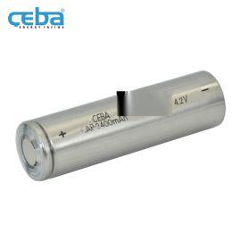 18650鋰電池3.7V平尖頭定制鋰離子電芯