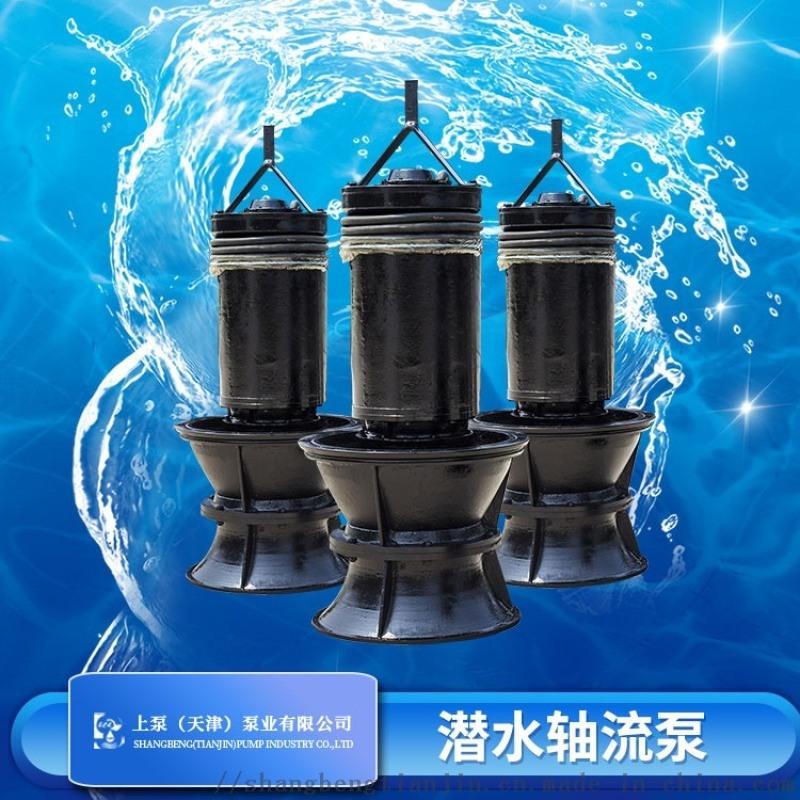 江苏井筒式安装潜水轴流泵 潜水轴流泵制造商