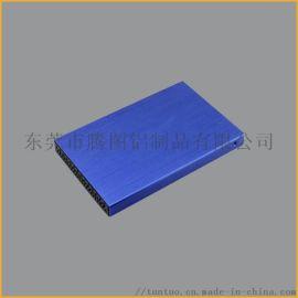 铝合金移动电源外壳定制加工 铝型材CNC加工厂
